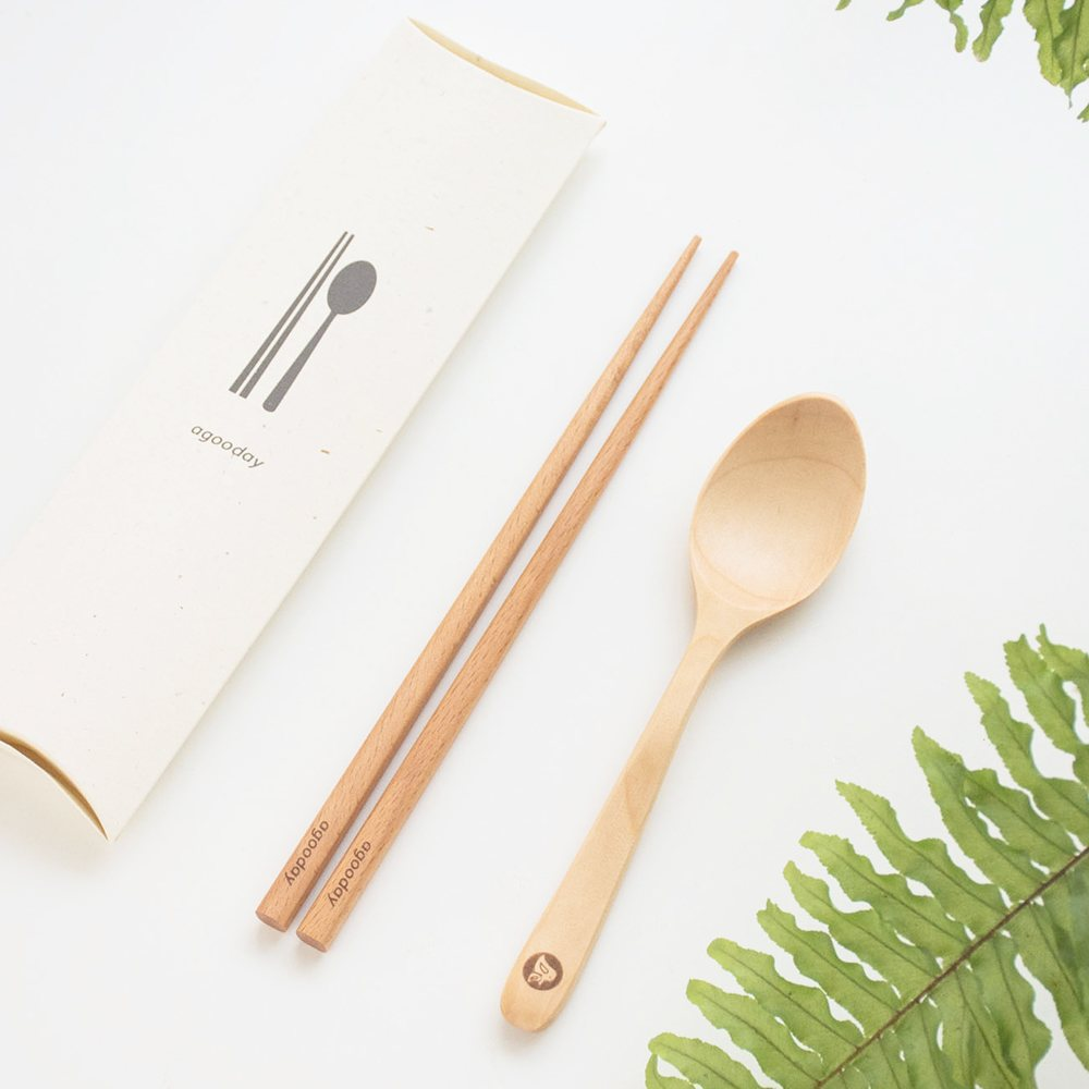 原木餐具組 A Good Tableware
