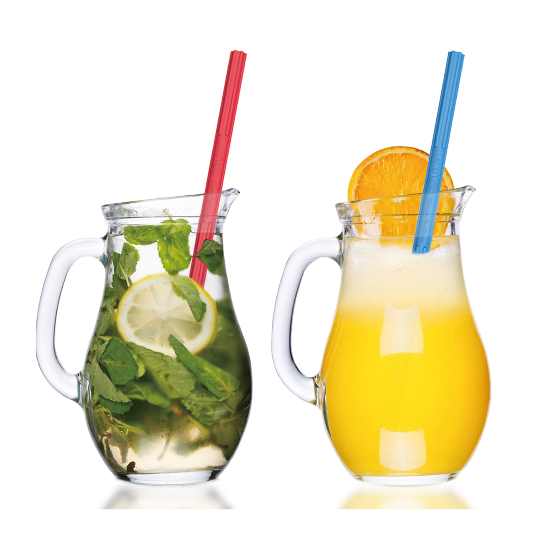 Lexngo Reusable Flexi Straw 環保矽膠飲筒