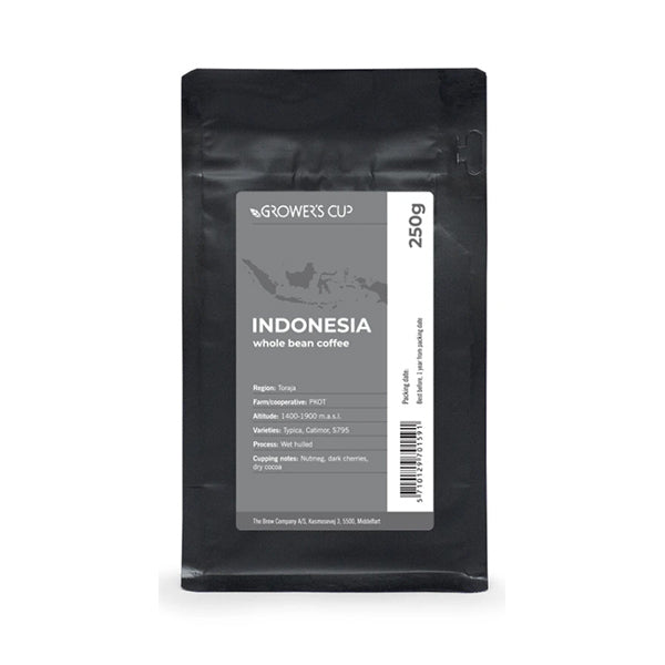 Grower's Cup Whole Bean Coffee (Indonesia 印尼)有機及公平交易咖啡豆 250g
