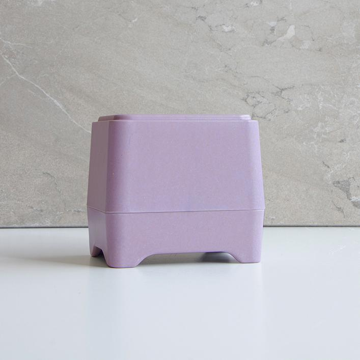 Lilac In-Shower Container