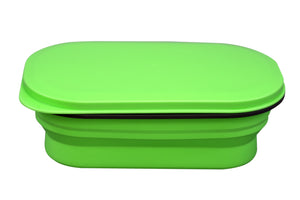Open image in slideshow, Lexngo Silicone Collapsible Lunch Combo(S) 矽膠飯盒套裝(細)