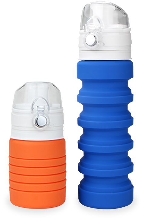 Lexngo Silicone Collapsible Flexi Bottle 環保矽膠伸縮水樽 500ml