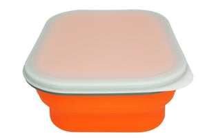 Open image in slideshow, Silicone Collapsible Snack Box (M) 矽膠蓋可摺疊食物盒 (中)