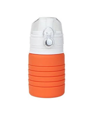 Open image in slideshow, Lexngo Silicone Collapsible Flexi Bottle 環保矽膠伸縮水樽 500ml