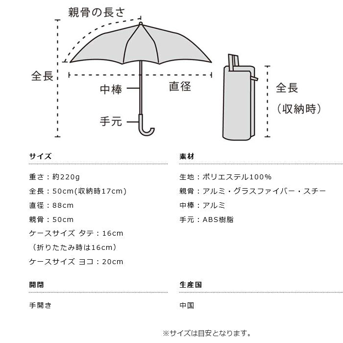 Mini Umbrella (輕便+防UV)