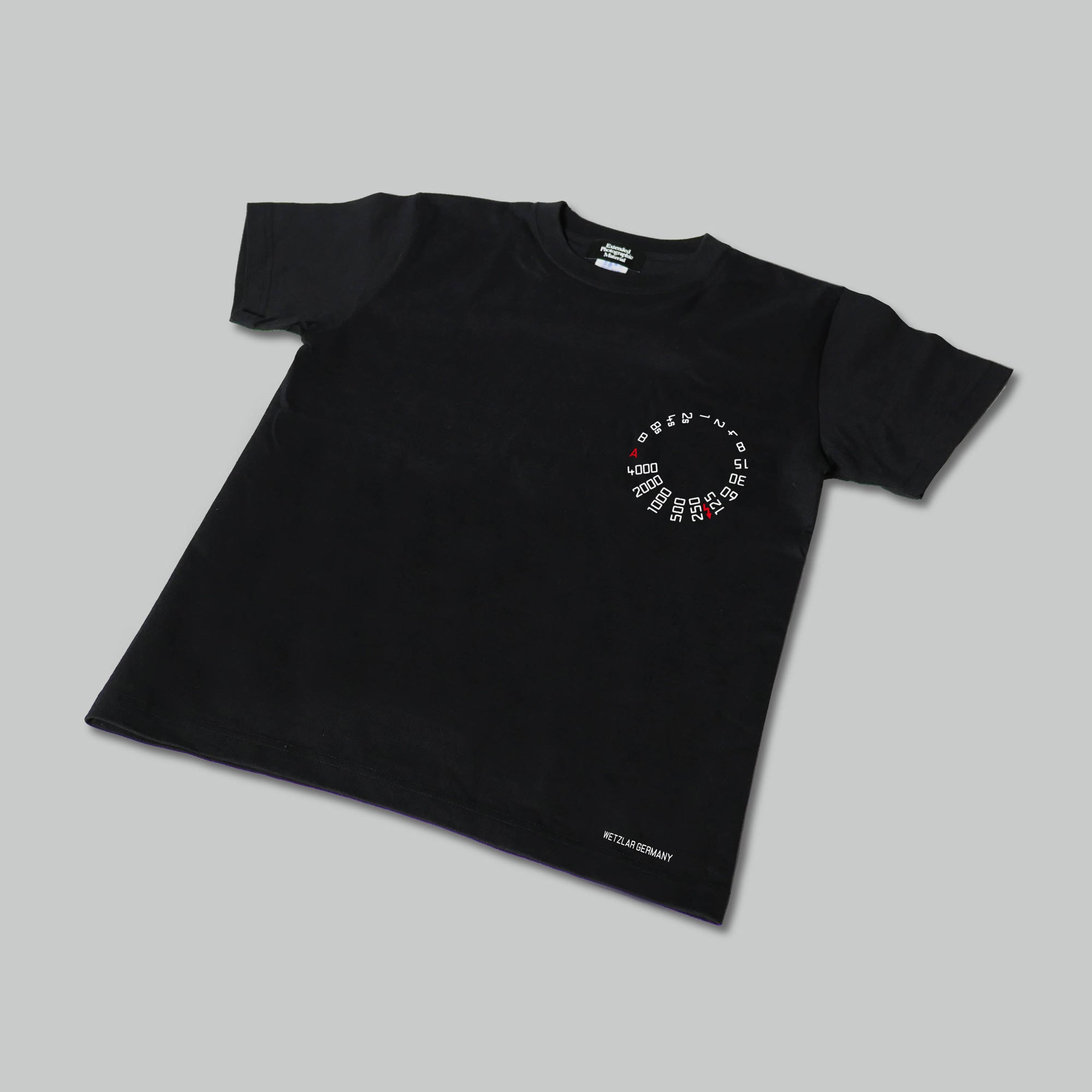 EPM SHUTTER SPEED DIAL TEE BLACK