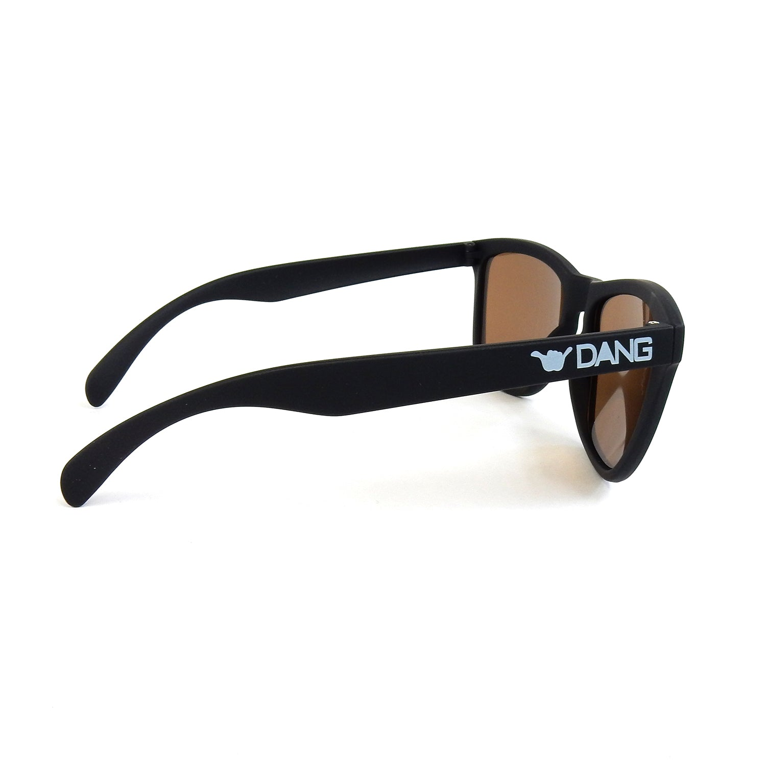 ORIGINAL Black Soft X Bronze Mirror Polarized with ONE HANG LOOSE [DANGSHADES 10th Anv Model]