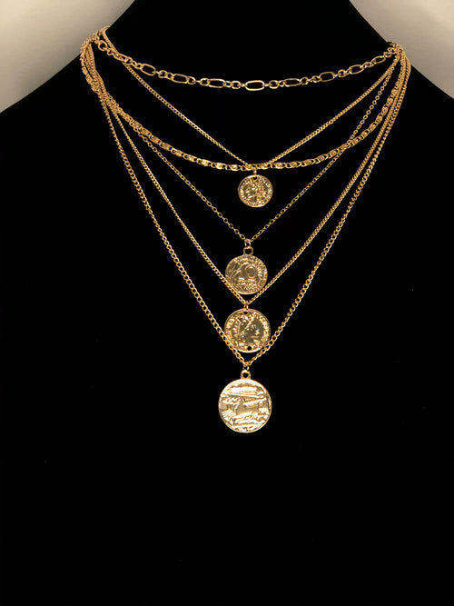 Gimme My Coins Layering Necklace