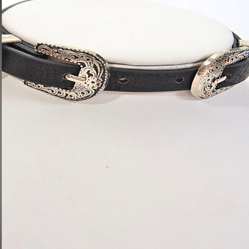 Western Buckle Belt Choker