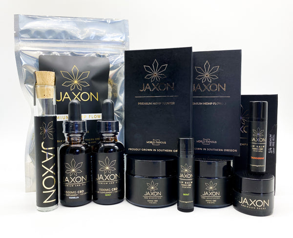 JAXON wholesale hemp flower and CBD products