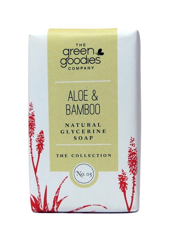 Green Goodies Aloe & Bamboo Natural Glycerine Soap