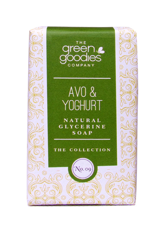 Green Goodies Avo & Yogurt Natural Glycerine Soap