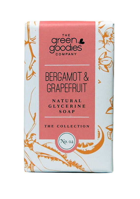 Green Goodies Bergamot & Grapefruit Natural Glycerine Soap