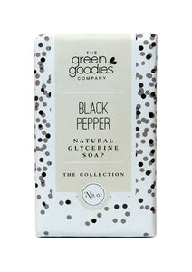 Green Goodies Black Pepper Natural Glycerine Soap