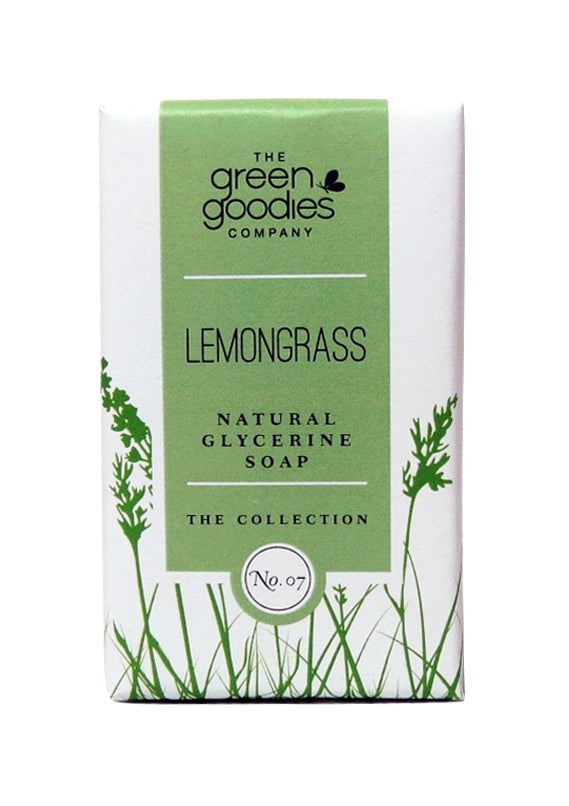 Green Goodies Lemongrass Natural Glycerine Soap