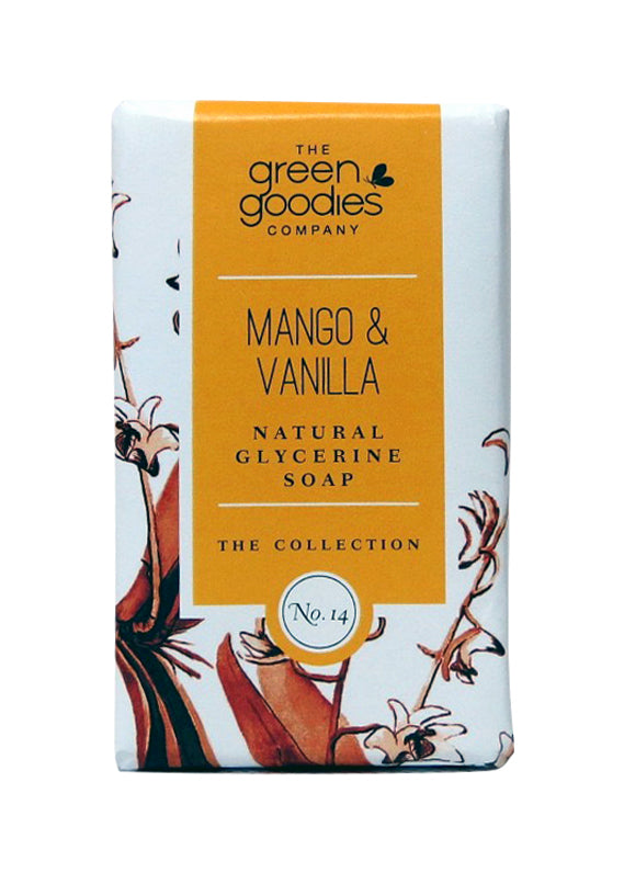 Green Goodies Mango & Vanilla Natural Glycerine Soap
