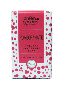 Green Goodies Pomegranate Natural Glycerine Soap