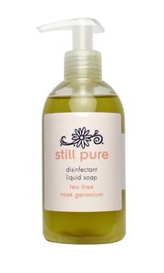 Still Pure Disinfectant Liquid Soap Rose Geranium