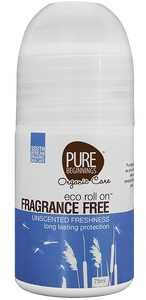 Pure Beginnings Fragrance Free Roll on Deodorant