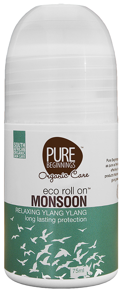 Pure Beginnings Monsoon Roll on Deodorant