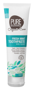 Pure Beginnings Fresh Mint Toothpaste 100ml