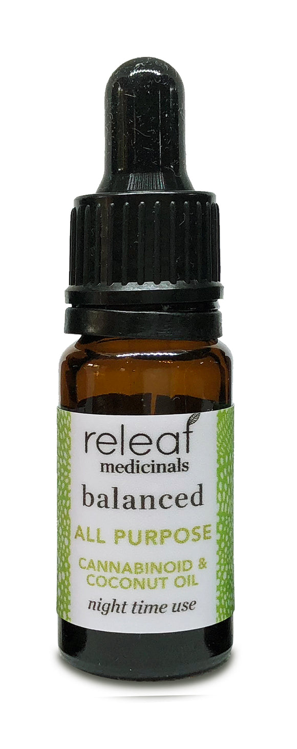Releaf Medicinals Balanced CBD Oil
