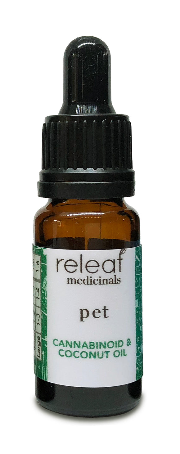Releaf Medicinals Pet CBD Oil