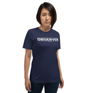 Women's Classic-Fit T-Shirt - White Logo - Observer Tools