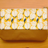 "Load image into Gallery viewer, Pattern Design Pouch ""Magnolia"""