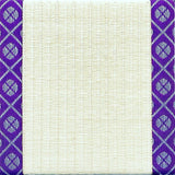 Load image into Gallery viewer, Tatami-Mat Coaster, Small Pattern Kourai (Purple)