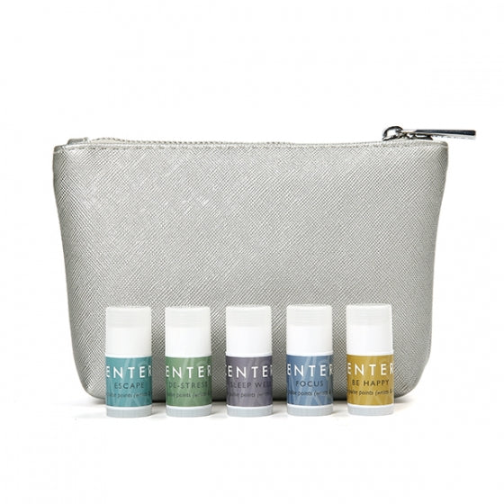 Mindful Aromatherapy Mini Collection Pouch