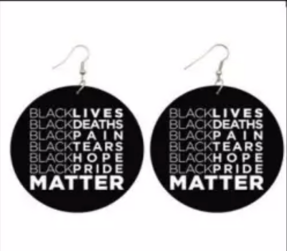 Black Lives,Death Pain,...Matter