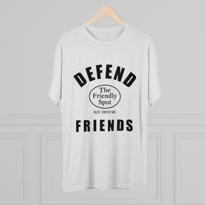 Defend Friends Tri-Blend Crew Tee