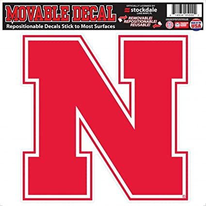 Nebraska Movable Primary Logo Decal