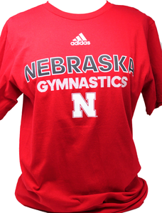Nebraska Men's Gymnastics tee