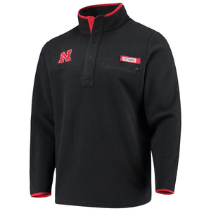 NEB Men's Harborside Fleece Pullover LS