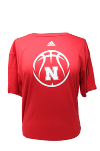 Nebraska Youth Basketball Icon Short Sleeve Tee