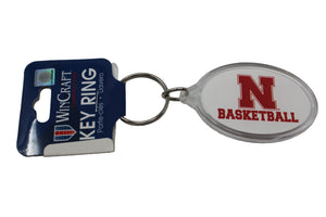 Nebraska Sport Oval Ring Basketball