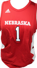 Load image into Gallery viewer, Nebraska Youth Adidas Basketball Jersey