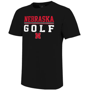 Nebraska Men's Golf Short Sleeve Tee
