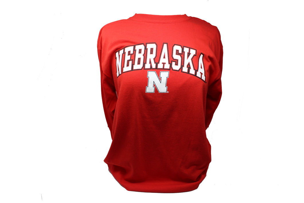 Nebraska Youth Campus Long Sleeve Tee