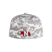 Load image into Gallery viewer, Nebraska Men's Adidas Camo Onfield Baseball Fitted Cap