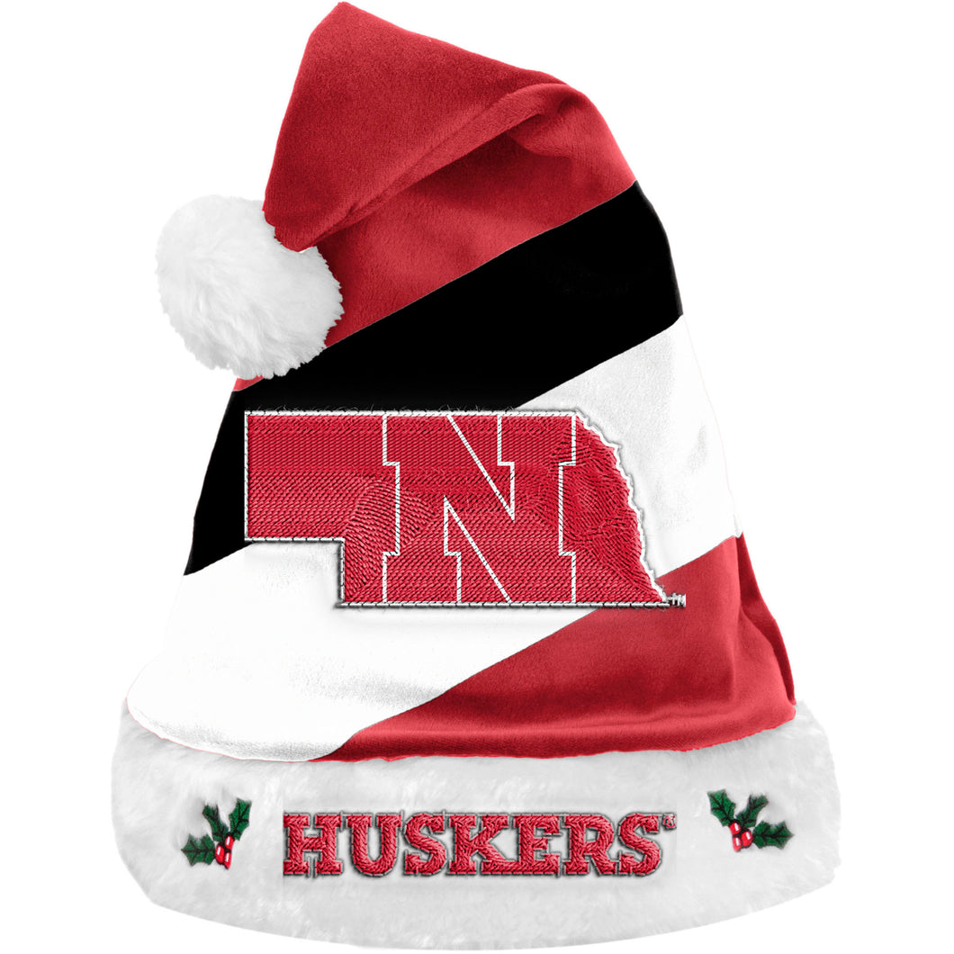 Nebraska Basic Santa Hat