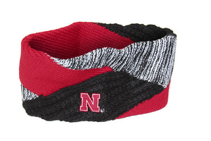 Nebraska Criss Cross Headband