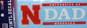 Nebraska Decal DAD
