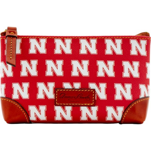 Nebraska Dooney & Bourke Cosmetic Case