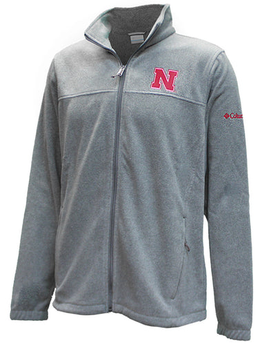 Nebraska Mens Flanker III Fleece Full Zip