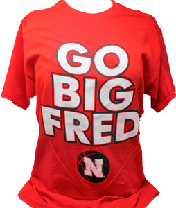 Nebraska Men's Go Big Fred Tee