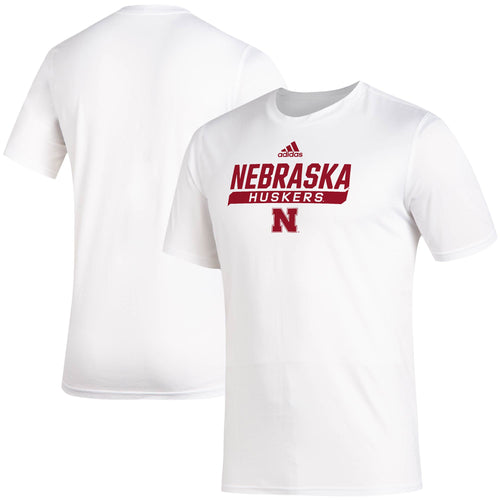 Nebraska Men's Adidas Locker Tail Sweep AEROREADY Creator T-Shirt
