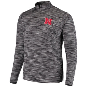 Nebraska Men's Primary Logo 1/4 Zip Windshirt